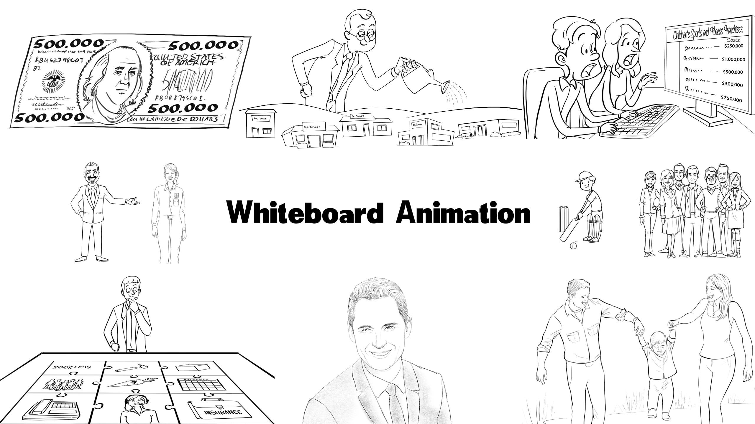 Custom Whiteboard Video